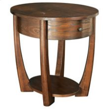 Concierge Oval End Table