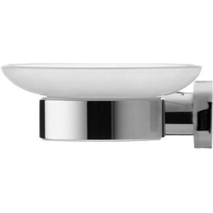 Chrome D-code Soap Dish