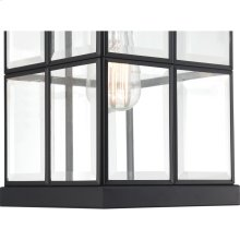 Mulligan Outdoor Lantern in Matte Black