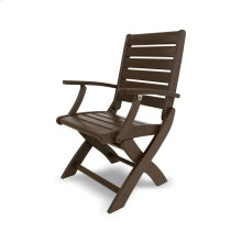 Mahogany Signature Folding Chair