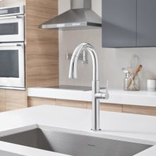 Studio S Pull-Down Dual Spray Kitchen Faucet  American Standard - Polished Chrome