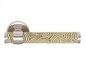 Stepped Recess Amalfine Labyrinth In Sand And Polished Nickel Product Image