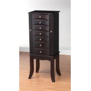 JAVA FINISH JEWELRY ARMOIRE Product Image