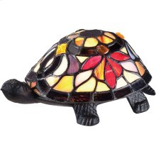 Flower Turtle Accent Lamp in Other
