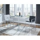 Contemporary White Bar Stool Product Image
