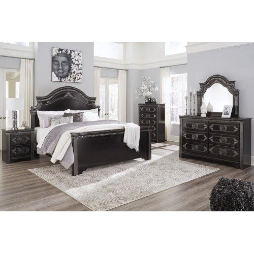 Banalski - Dark Brown 3 Piece Bed Set (King)