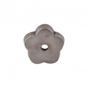 Aspen Flower Backplate 1 Inch - Silicon Bronze Light Product Image
