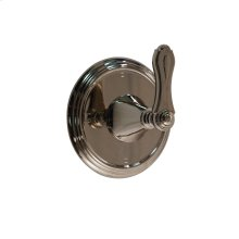 3-way Wall Mount Diverter in Polished Chrome