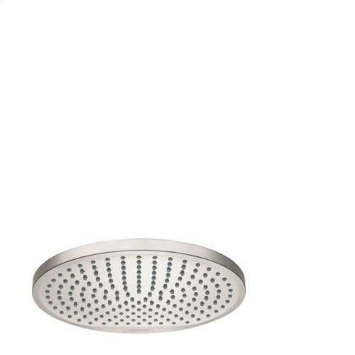 Brushed Nickel Showerhead 240 1-Jet, 2.0 GPM