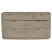 Mosaic Dresser in Dark Taupe (373)