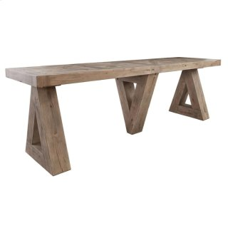 Crescent Console Table