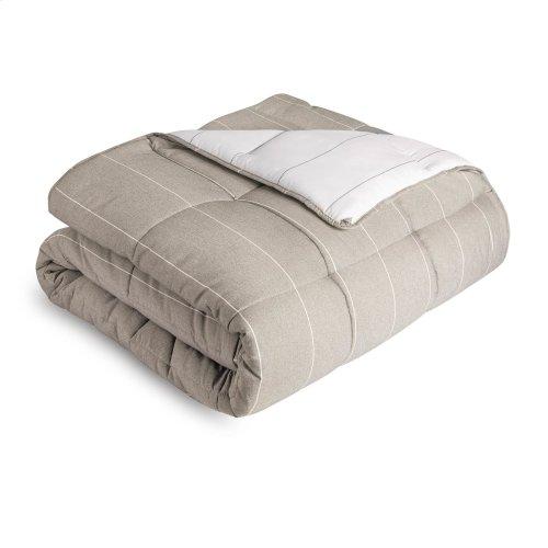 Chambray Comforter Set Cal King Flint