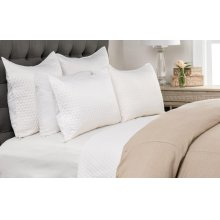 Diamond White Standard Sham 20x26