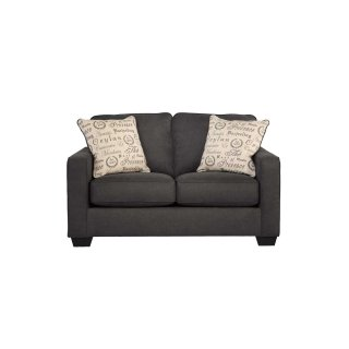 Alenya Loveseat Charcoal