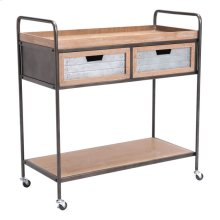 Jaen Bar Cart Multicolor