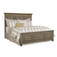 Mill House Mason Cal King Wood Panel Bed - Complete