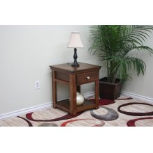 A-S248 Shaker Alder End Table