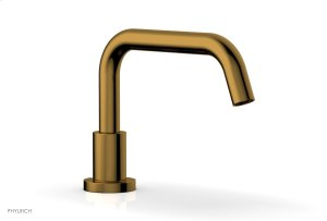 BASIC Deck Tub Spout D5132 - French Brass Product Image