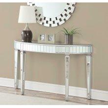 Contemporary Mirrored Console Table