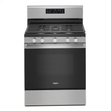 5.0 cu. ft. Whirlpool® gas convection oven with fan convection cooking