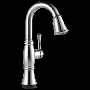 Arctic Stainless Single Handle Pull-Down Bar / Prep Faucet with Touch 2 O ® Technology Product Image