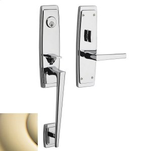Lifetime Polished Brass Palm Springs 3/4 Escutcheon Trim Product Image