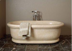 Roman Bathtub Papiro Cream Marble Product Image