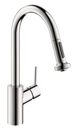 Chrome HighArc Kitchen Faucet, 2-Spray Pull-Down, 1.5 GPM Product Image