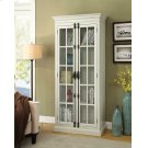 Traditional Antique White Tall Cabinet Product Image