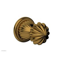 GEORGIAN & BARCELONA Volume Control/Diverter Trim - Round Handle 2PV361A - French Brass
