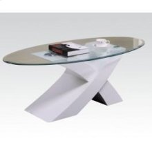 Pervis White Coffee Table