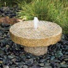 Small Antique Millstone Fountain
