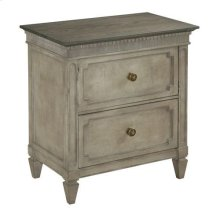 Savona Ax Two Drawer Nightstand