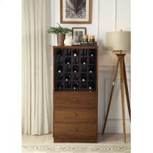 WALNUT WINE CABINET