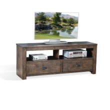"""Homestead 64"""" TV Console w/ 2 Drawers"""