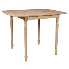 T-3636XBT / T-336T Butterfly Leaf Table (top only) / Turned Legs
