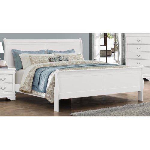 Bianco White LP King Bed