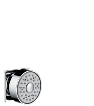 Chrome Body shower square 1jet Product Image
