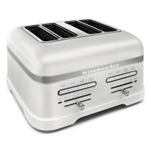 Pro Line® Series 4-Slice Automatic Toaster Frosted Pearl White