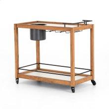 Oakley Bar Cart-light Acacia