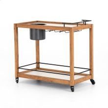 Oakley Bar Cart-light Acacia
