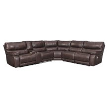Muirfield - Mahogany 3 Piece Sectional