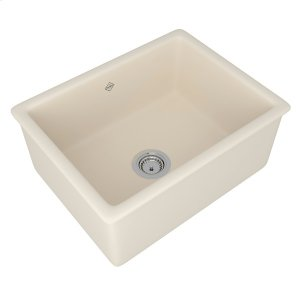 Parchment Shaws Classic Shaker Single Bowl Inset Or Undermount Fireclay Secondary Kitchen Or Laundry Sink Product Image