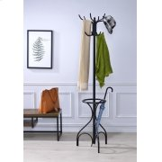 BLACK COAT RACK Product Image