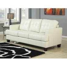 Samuel Transitional Cream Sleeper Sofa
