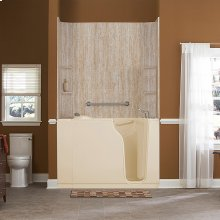 Premium Series 30x52-inch Soaking Walk-In Tub  American Standard - Linen