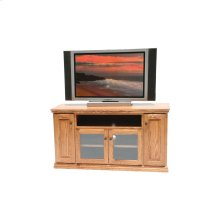"""O-T239 Traditional Oak 60"""" TV Console"""