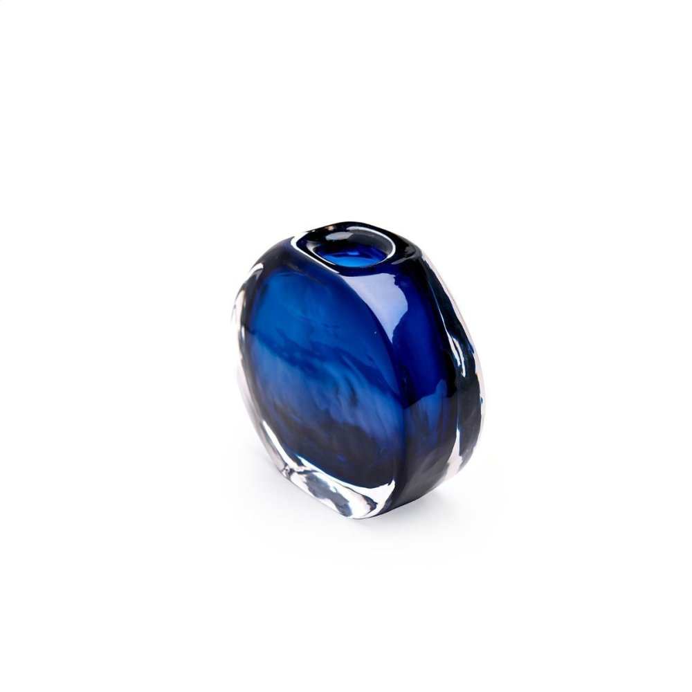 Angeli Small Vase, Midnight Blue