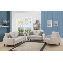 Kourtney Beige Loveseat