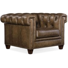 Living Room Chester Tufted Stationary Chair